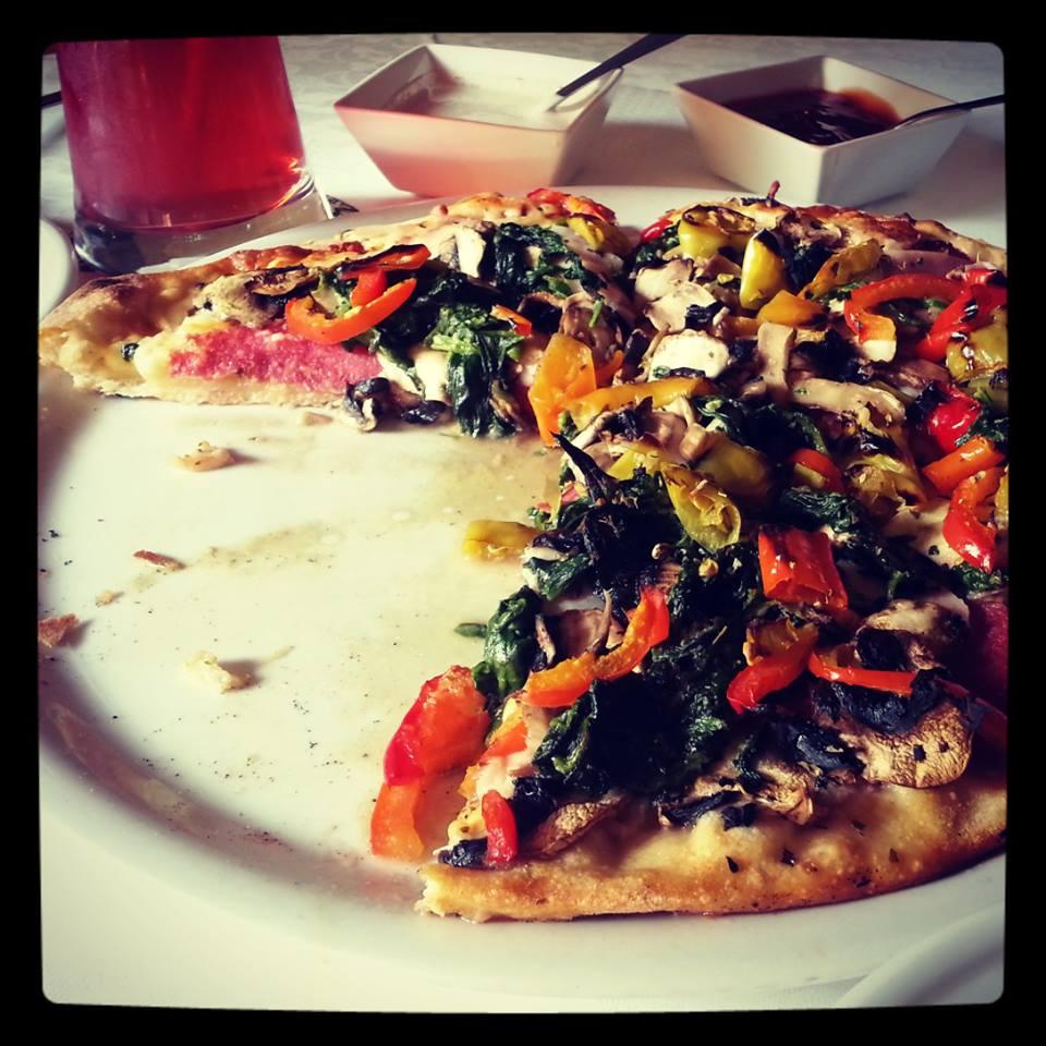 Pizza Alabama w Presto Pizzeria (źródło: zdjęcie własne)