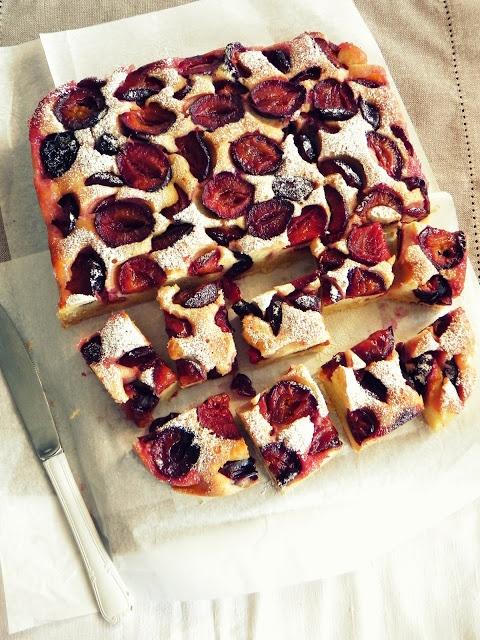 Ciasto ze śliwkami (źródło: pinterest.com)