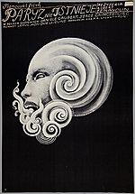 Plakat Starowieyskiego z 1970r (źródło: muzeum.krakow.pl)