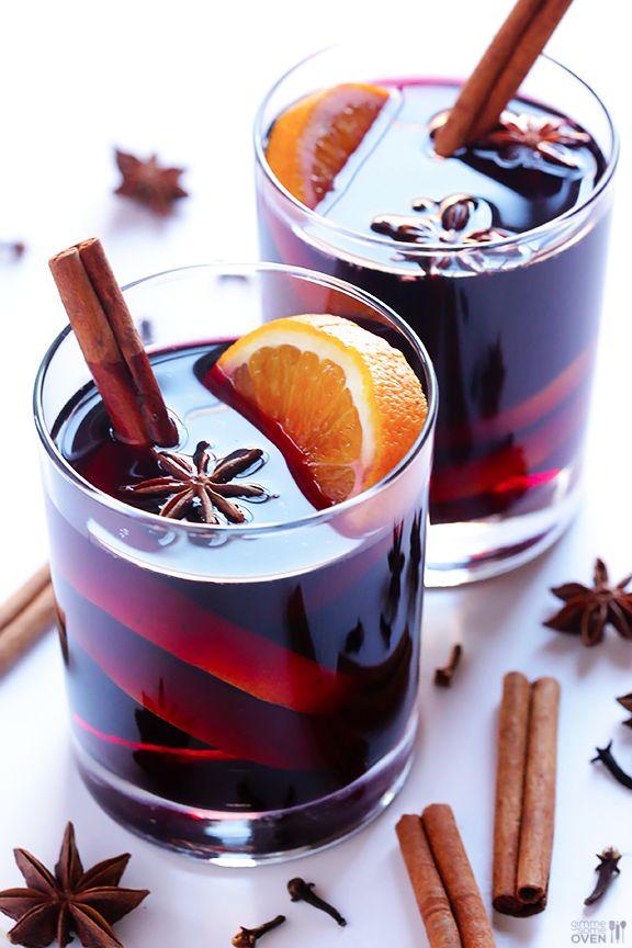 Grzane wino z pomarańczą (źródło: pinterest)