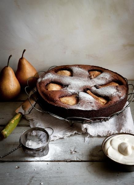 Ciasto z gruszką (źródło: pinterest)