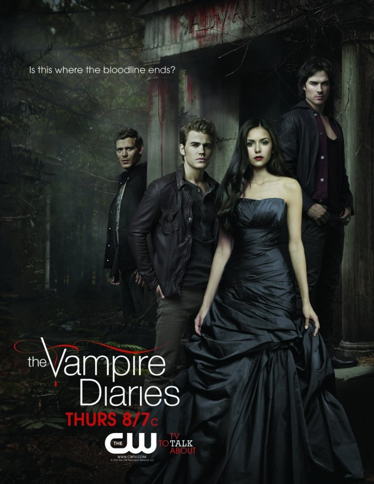 The Vampire Diaries (źródło: pinterest)