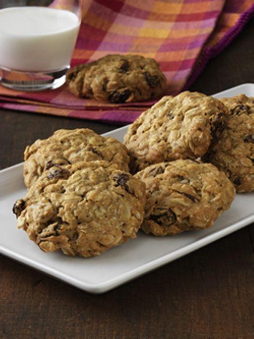 Pełnoziarniste ciasteczka z bakaliami (źródło: pinterest)