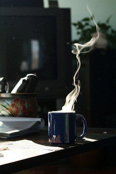 Rozgrzewająca kawa (źródło: pinterest)