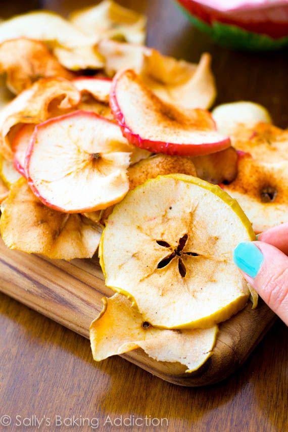 Chipsy jabłkowe (źródło: pinterest)