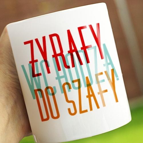 Porcelanowy kubek z napisem (źródło: mybaze.com)