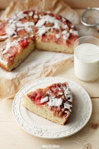 Ciasto z rabarbarem (źródło: pinterest)