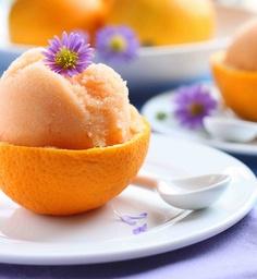 orzeźwiający sorbet z pomarańczy (źródło: pinterest)