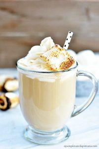 Caffe latte z imbirem (źródło: pinterest)