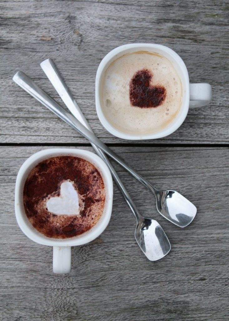 zimowa kawa z miodem i imbirem