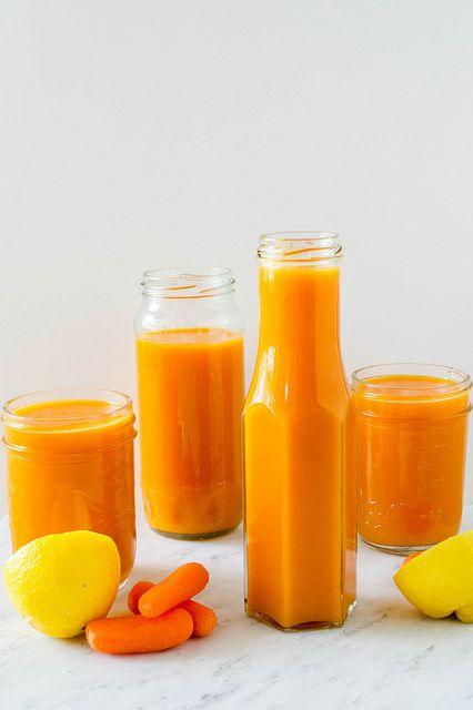 domowy sok z marchewki