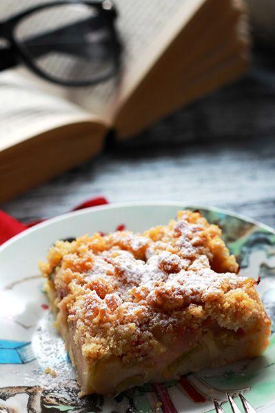 ciasto truskawkowe z kruszonką
