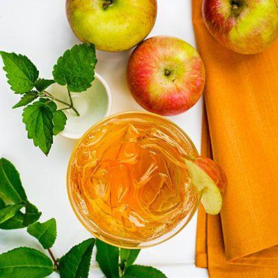 mrożona herbata jabłkowa