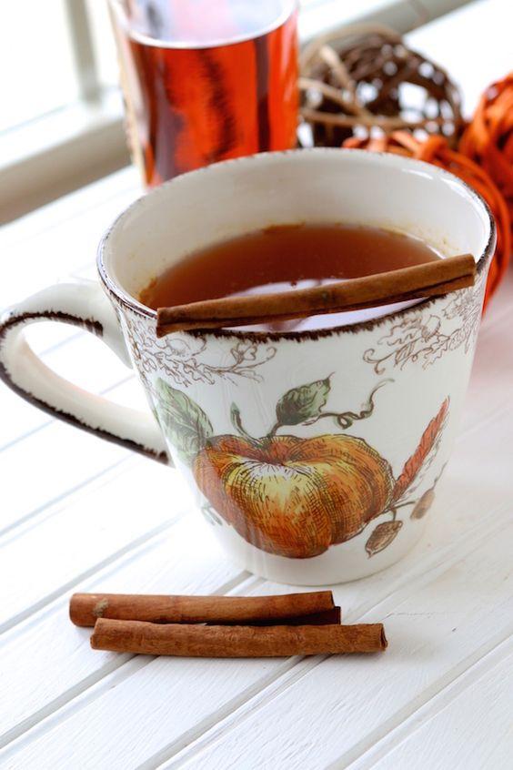 herbata z imbirem i pałką cubamonu