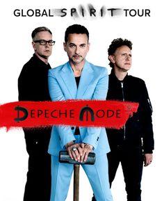 okładka promująca trasę koncentrową zespołu Depeche Mode