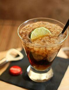 drink w rumem i limonką