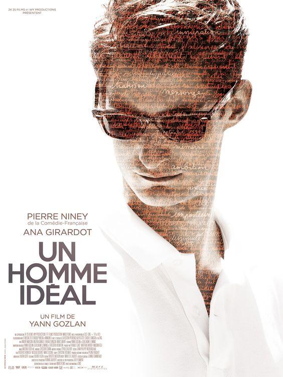 plakat reklamujący film mężczyzna idealny