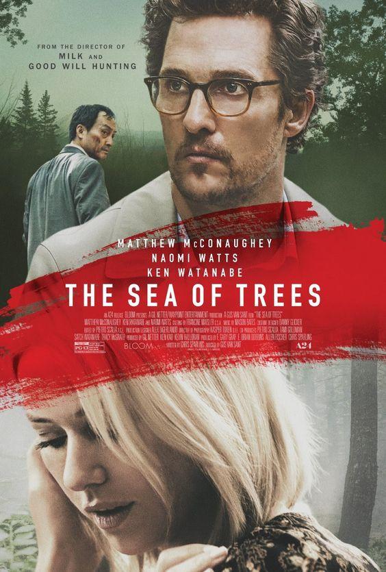 okładka filmu morze drzew Matthew McConaughey