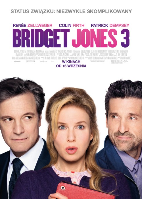 okładka filmu Bridget Jones 3