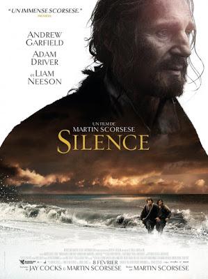okładka promująca film Silence, milczenie