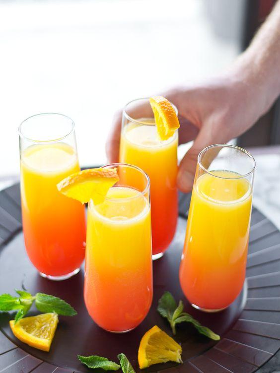 drink mimoza przepis