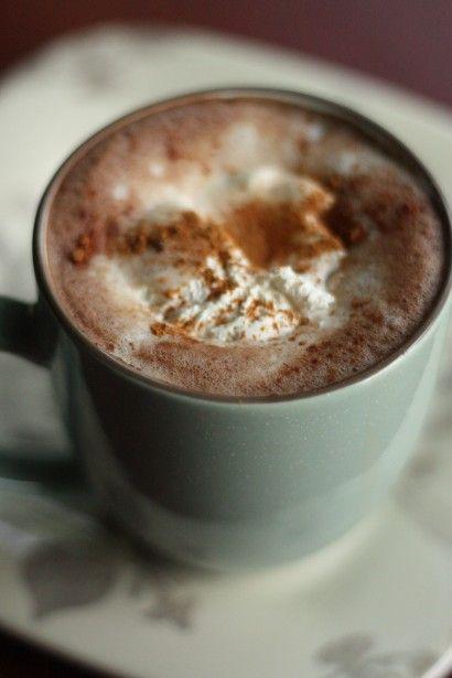 kawa z cynamonem i wanilią