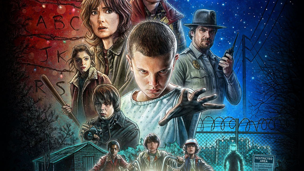 serial stranger things